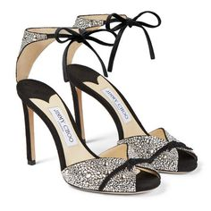 Shop Jimmy Choo Black SUEDE Talaya 100 pumps for Women at Level Shoes in Dubai mall or Buy Online and Pay Cash on delivery in UAE, KSA, Kuwait, Oman and Bahrain. Hot Shoes, Shoes Heels, Suede Sandals, Shoes Sneakers, Shoes Men, Nike Shoes, Pretty Shoes, Beautiful Shoes, Shoes 2018