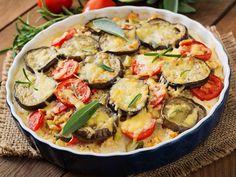 aubergine, tomate, ail, persil, gruyère, chapelure, huile de friture, gros sel