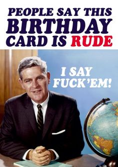 24 Ideas birthday meme funny ecards greeting card for 2019 Bday Cards, Rude Birthday Cards, Birthday Messages, Birthday Memes, Birthday Board, Birthday Stuff, Birthday Crafts, Happy Birthday Signs, Birthday Greetings