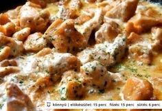 Ínyenc csirkeragu (Stahl) Hungarian Recipes, Hungarian Food, Meat Recipes, Cheeseburger Chowder, Food Hacks, Potato Salad, Mashed Potatoes, Food And Drink, Turkey
