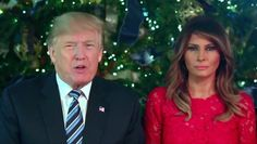 President Donald Trump and First Lady Melania released a beautiful Christmas greetings video on Monday that shows the First Couple standing in front of a Christmas tree as they address the Nation. The 1:44 video was posted to the @realDonaldTrump Twitter account at 8:36 a.m. EST and has been viewed about 2 million times seven …