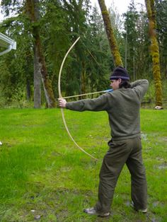 Make a bow and arrow | SurvivalMastery.com I miss the one I made as a kid & this one looks WAY better!