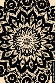 FREE mandala art wallpaper for iPhone and iPod Touch