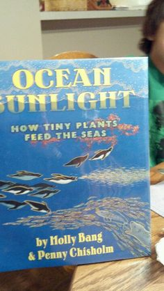 Book-Ocean sunlight by Molly Bang & Penny Chrisholm ... about the Ocean food chain