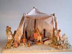 Resultado de imagen para tiendas+beduinos+belenes Christmas Nativity Scene, Christmas Villages, Broken Pot Garden, Arabian Tent, Fontanini Nativity, Medieval Houses, Building Furniture, Fairy Garden Houses, Little Houses