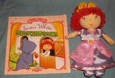 Strawberry Shortcake Plush Stuffed Doll Book   eBay $3.99