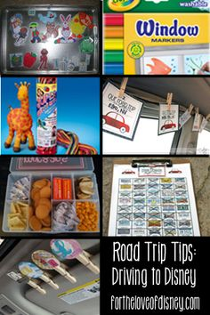 Road Trip Tips and Games for Driving to Disney with Kids