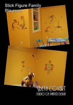 Fun Kid's Room design.