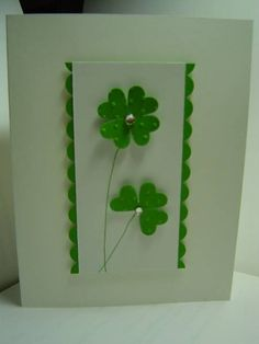 Patrick's Day 2013 by crazysuziestamper - Cards and Paper Crafts at Splitcoaststampers patricks day cards CAS St. Patrick's Day 2013 by crazysuziestamper - Cards and Paper Crafts at Splitcoaststampers St Patricks Day Quotes, Happy St Patricks Day, Diy St Patricks Day Cards, St Patricks Day Wallpaper, Desserts Valentinstag, St Patrick's Day Decorations, St Patrick's Day Crafts, St Paddys Day, Diy Cards