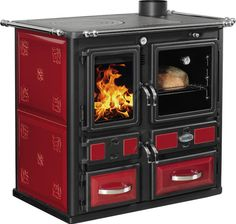 DESIRÉE HYDRO 860 wood burning stove from Sideros