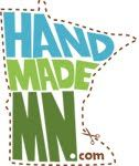 HandmadeMN is an etsy team, a collective of Minnesota-based artists and crafters. It's a fun way for us all to help each other as we all sell on etsy.