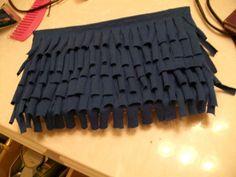 tee shirt clutch tutorial refashion reuse upcyle reuse