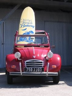 2CV and surf
