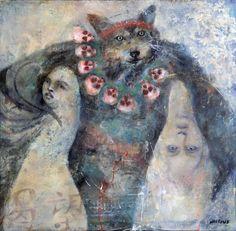 Katie Hoffman Fine Art                            Witch Doctor Wolf