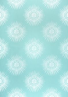 BAHIA WOVEN, Aqua, W80779, Collection Solstice from Thibaut