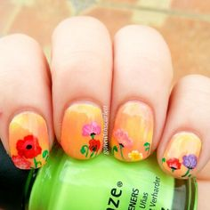 gonewithscarlett #nail #nails #nailart