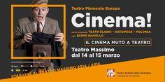 CINEMA! -TEATRO MASSIMO – CAGLIARI- 14-15 MARZO 2015