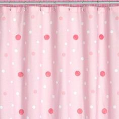 Pink U0026 White Polka Dot Shower Curtain | Pink # 2 | Pinterest | Pink White, Dot  Dot And Pink Pink Pink