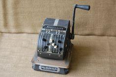 Vintage Industrial Speedrite Handcrank by PickersWarehouse on Etsy, $69.00