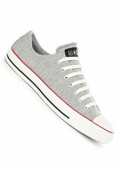 b739d08f3d5b Converse Chuck Taylor All Star Ox Sweatshirt - Sneakers - Grau