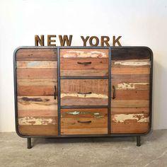 Konstruktiv Sideboard,anrichte,kommode,schrank,antik,möbel Antike Originale Vor 1945 Kommoden