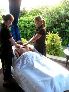 Aah a couple's massage at #Fairmont Spa Kea Lani Maui