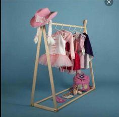 handmade dress up rack