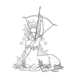 Last week on Briana ! So lovely meeting you girl, so happy I could do this piece for you 😌🙏🏽✨ Sagittarius Art, Sagittarius Tattoo Designs, Capricorn Tattoo, Archer Tattoo, Tattoo Feminin, Tattoo Drawings, Art Drawings, Sacred Feminine, Zodiac Art