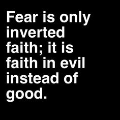 This is a super interesting thought, I think there may be some truth in it. I have not looked at fear from that perspective before, but it certainly makes sense...Thank you Christina