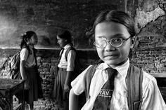 Nepalese school by GIULIO MONTINI Hotshoe.org