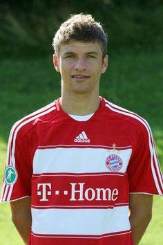 Young Thomas Muller