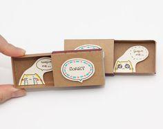 Sorry Forgive me Card Matchbox / Gretting Card / Gift par shop3xu