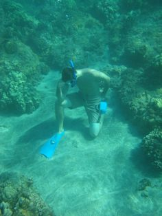 Underwater Tebowing. @Michael Faller you gotta up your game. lol