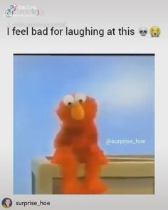 Elmo - Funny Offensive Memes - - The post Elmo appeared first on Gag Dad. Super Funny Videos, Funny Short Videos, Funny Video Memes, Crazy Funny Memes, Really Funny Memes, Stupid Funny Memes, Funny Relatable Memes, Funny Shit, Funny Vidos