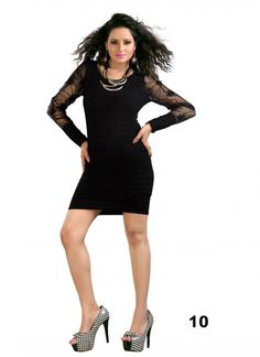 Colour Black Fabric Georgette Occasion Party Shipping time 7 days Sleeve Full Sleeve Type Shirts Tops