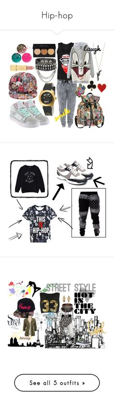 """""""Hip-hop"""" by adorable-girl ❤ liked on Polyvore featuring Gotta Flurt, David & Goliath, MDMflow, Urban Decay, Marvel, Alison Lou, WALL, cray, HipHop and LATHC"""