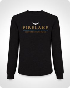 Firelake River Unisex Sweatshirt – £29.95  CLASSIC SWEATSHIRT 80% Combed Cotton 20% Polyester Brushed 3-ply 9oz/ 320g