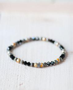 Minimalist Swarovski Crystal Bracelet Summer Bracelet by DevikaBox #swarovski #jewelry #jewellery #crystal #bracelet #summer #minimalist #gift #etsy #zibbet #dawanda #devikabox