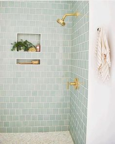 32 Chic Blue Shower Tile Design Ideas For Your Bathroom Bad Inspiration, Bathroom Inspiration, Kitchen Fixtures, Bathroom Fixtures, Bathroom Hooks, Bathroom Canvas, Bathroom Hardware, Kitchen Backsplash, Bathroom Storage