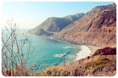 Big Sur! Love love the drive up 101 from CA to WA. Camped along the way.