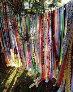 #bohemian #boho #gardens #gardenshade #gypsy #hippie #sheer #lace #curtain