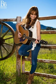 Makeup Artist for Celeste Kellogg Gibson Guitar Photo Shoot in Westlake Village, CA