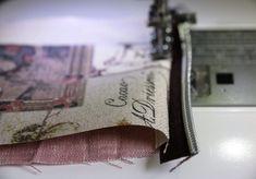 Mini Geldbörse nähen Money Clip, About Me Blog, Wallet, Sewing, Diy, Crafts, Pencil Cases, Handmade Bags, Key Chains