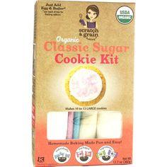Homemade Baking   Classic Sugar Cookie Kit   Scratch & Grain Baking Co.