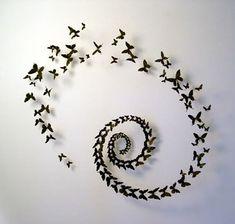 Polvo de polillas: Mariposas