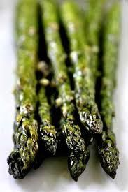 Oven-Roasted Asparagus with Blood Orange Infused Olive Oil Recipe