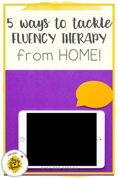 Fluency therapy ideas and resources for SLPs. I'm sharing with you several ways you can feel more confident with fluency therapy! I list several favorite books, resources, social media accounts, and professional development opportunities that are sure to help you!