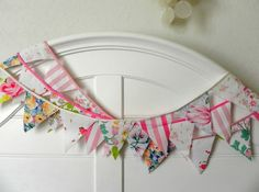 Cotton Candy Bunting