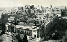 The Johannesburg City Hall still under construction in 1911 (With acknowledgement to Friedel Hansen)