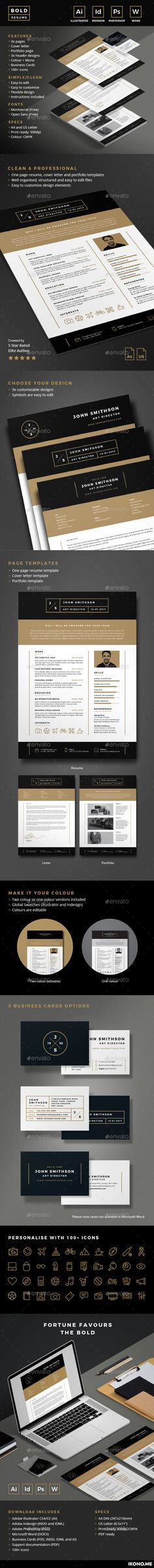 Resume CV Fonts, Template and Modern - microsoft office resume templates 2010